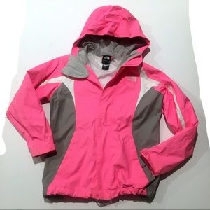 North Face HyVent Shell Jacket Sz M